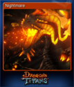 Dragons and Titans Card 1