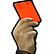 FX Football Emoticon fxredcard