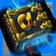 Magicka Wizard Wars Badge Foil
