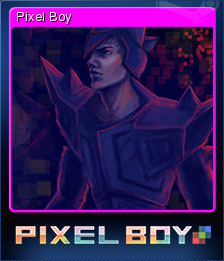Pixel Boy Card 05