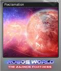 Robo's World The Zarnok Fortress Foil 6