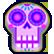Guacamelee Emoticon sugarskull