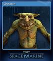 Warhammer 40,000 Space Marine Card 12