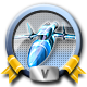 Direct Hit Missile War Badge 5