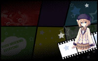 MegaTagMension Blanc + Neptune VS Zombies Background Blanc Background