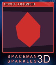 Spaceman Sparkles 3D Card 8