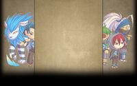 Minimon Background Elite Skull Background