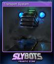 Slybots Frantic Zone Card 4