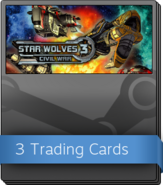 Star Wolves 3 Civil War Booster Pack