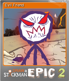Draw A Stickman Epic 2 Evil Friend Steam Trading Cards Wiki