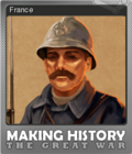 Making History The Great War Foil 1