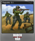March of War Foil 01