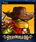 SteamWorld Dig Card 1