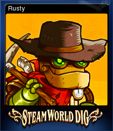 SteamWorld Dig Card 1
