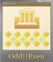 Odd Even Foil 4