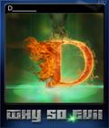 Why So Evil Card 1