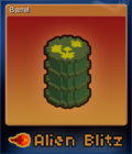 Alien Blitz Card 2