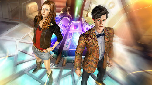 Doctor Who The Adventure Games Artwork 3