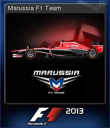 F1 2013 Card 10