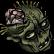 Pixel Puzzles UndeadZ Emoticon deadhead1
