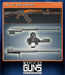 World of Guns Gun Disassembly Card 08