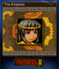 Avaris 2 The Return of the Empress Card 1