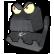 Boo Bunny Plague Emoticon robotvsdinosaur