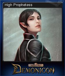 Demonicon Card 1