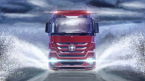 Euro Truck Simulator 2 Artwork 6
