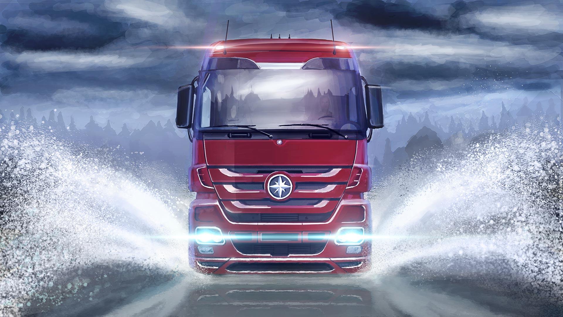 Image Euro Truck Simulator 2 Artwork 6 Jpg Steam Trading Cards