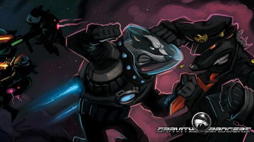 Gravity Badgers Artwork 5