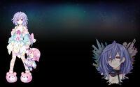 Hyperdimension Neptunia ReBirth3 V Generation Background Plutia