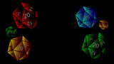 Tabletop Simulator Background A Bunch of D20s