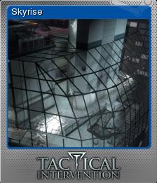 Tactical Intervention Foil 12