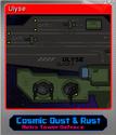 Cosmic Dust & Rust Foil 2