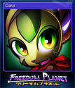 Freedom Planet Card 2