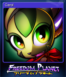 Freedom Planet Card 2