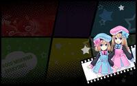 MegaTagMension Blanc + Neptune VS Zombies Background Rom and Ram Background