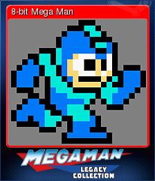 Mega Man Legacy Collection Card 8