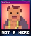 NOT A HERO Card 4