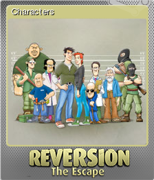 Reversion - The Escape Foil 1