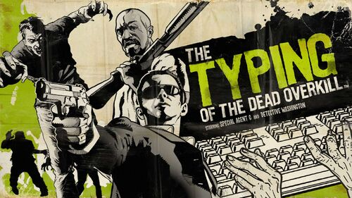 The Typing of the Dead Overkill Artwork 10