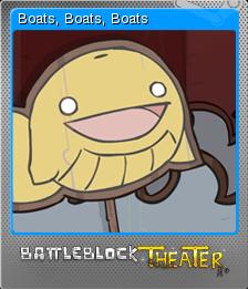 BattleBlock Theater Foil 8