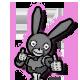 Boo Bunny Plague Badge 2