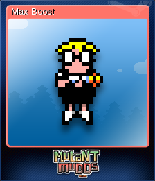 Mutant Mudds Deluxe Card 1