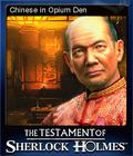 The Testament of Sherlock Holmes Card 6