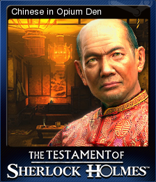The Testament of Sherlock Holmes Card 6