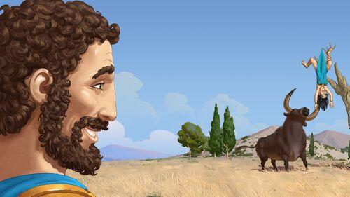 12 Labours of Hercules II The Cretan Bull Artwork 5