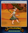 Dungeons The Eye of Draconus Card 1