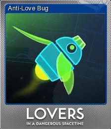 Lovers in a Dangerous Spacetime Foil 1